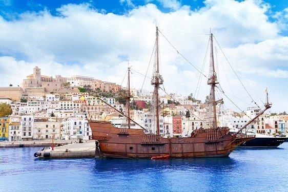historia del seguro, barco antiguo